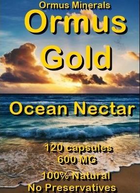 OceanNectar - Ormus Minerals - Ormus Gold Ocean Nectar